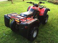 Suzuki ozark 250cc farm quad 2016