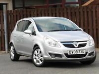Vauxhall Corsa Design 1.4 16v 5dr PETROL MANUAL 2009/09