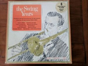 """Vintage Vynil Records Album """"The Swing Years"""""""