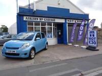 2008 Daihatsu Sirion 1.0 SE 5DR,59,000 MILES,FULL SERVICE HISTORY, £30 ROAD TAX