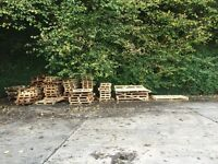 Scrap pallets free to take in bulk