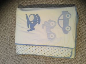 Emma and Jack crib bedding and mobile