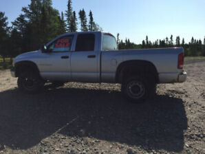 For sale 2004.5 Dodge Ram 2500 4x4 Diesel
