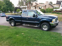 perfect 02 F-250 Lariat 7.3 turbo diesel