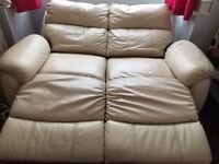 Leather Electric Recliner Sofa 2 seaters!!