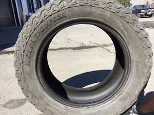 Two LT285/55R20 Mickey Thompson Baja AT2 P3