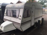 4 berth Piper 1400l in good condition cheap and cheerful