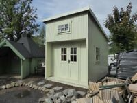 Eco Log Cabin, insulated - Ex-display