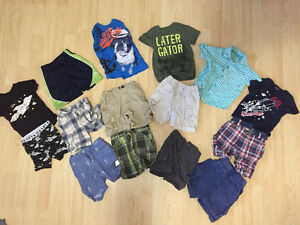Boy summer clothes