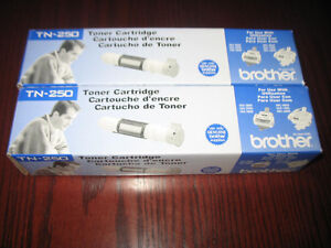 Genuine Brother TN-250 Toner 2 for the price of 1!!