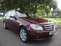 Mercedes-Benz C200 SE 2.1TD Auto Estate + Navigation + Leather, 2008, 69k FSH