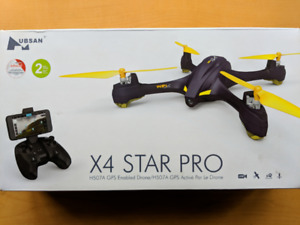 Drone Hubsan X4 Star Pro - WiFi/GPS FPV - Like New +32Gb MicroSD