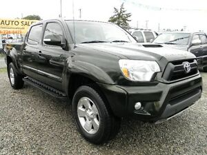 2012 Toyota Tacoma TRD Sport DOUBLE CREW CAB 4x4 Pickup Truck