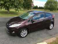 FORD FIESTA 1.4 TDCI ZETEC 1 OWNER 44000 MILES FSH 7 STAMPS DRIVE AWAY TODAY