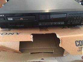 Sony CDP 311 compact disc player