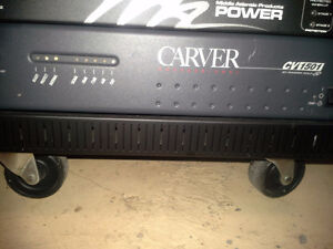Carver power amplifier