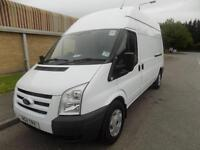 11(11) FORD TRANSIT 350 LWB HIGH ROOF 2.2 FWD 115 BHP