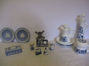 Lot of Vintage Delft, Wedgewood and Avon London Ontario image 3