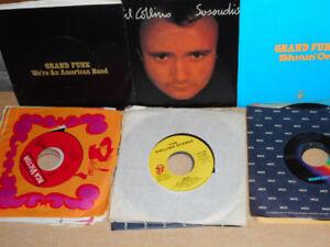 vinyles 45 t assorties