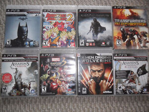 Various PS3 games for sale (Will Update list as sold)