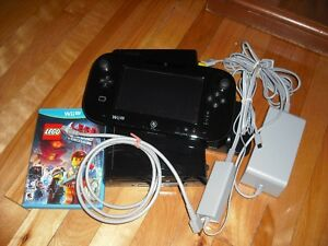Console Nintendo Wii U Deluxe 32GB + 3 Jeux + Acc
