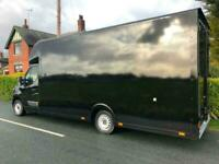 2017 66 EXTRA LONG LARGEST POSSIBLE LOW LOADER RENAULT MASTER LUTON VAN 17FT BOX