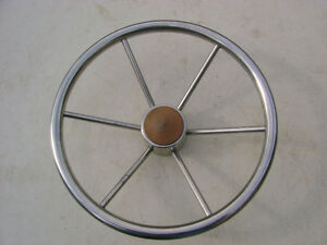 Stainless Steel Steering Wheel for Boat