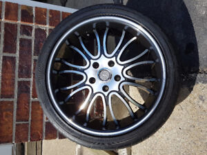 18 inch mags/wheels for sale (mags are in good condition)