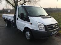 Ford Transit T350 3.5T LWB 13ft 3in Dropside, Very Clean,