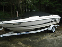 Fish and Ski Boat For Sale - Low Hours - New Condition