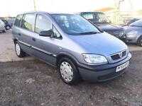 2005/54 Vauxhall/Opel Zafira 2.0DTi 16v Life HPI CLEAR EXCELLENT RUNNER