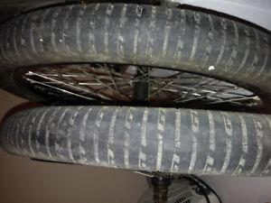 Bmx rims and tires