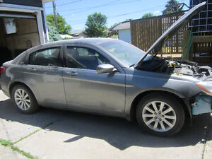 Parting out 2012 chrysler 200