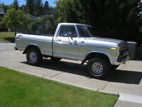 77 ford short box 4x4 with AC