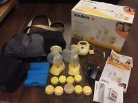 Medela Freestyle double breast pump boxed