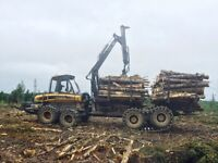 2010 Ponsse Buffalo King forwarder