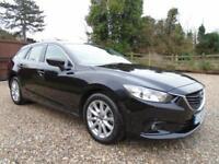 * BARGAIN * 2014 14 REG Mazda 6 2.2 ( 150ps ) DIESEL ESTATE * SAT-NAV * 1 OWNER