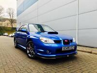 2007 07 reg Subaru Impreza 2.5 WRX SL Turbo + BLUE + STI STYLE BODY KIT