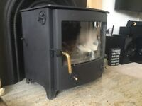 7.5kw Multi Fuel Stove from Town & Country As New
