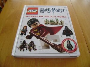 HARRY POTTER LEGO BOOK WITH FIGURE Windsor Region Ontario image 1