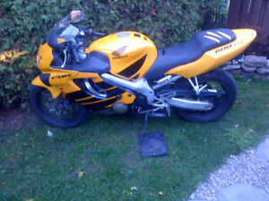 sportbike for trade-great shape-ODO
