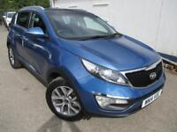 2014 KIA SPORTAGE CRDI 2 ISG PANORAMIC ELECTRIC ROOF ESTATE DIESEL