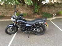 Lexmoto zsb 125 motorcycle