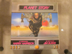 Planet Story (1979) by Harry Harrison and Jim Burns