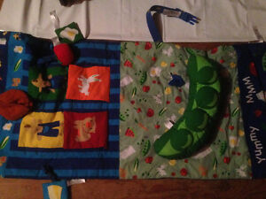 Cart cover/tummy time mat