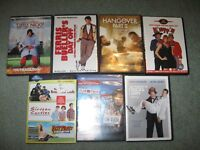 7 Comedy DVDs