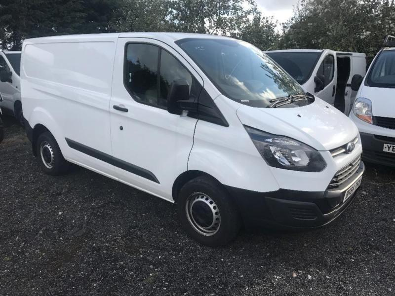 FORD TRANSIT CUSTOM 290 LR P-V, White, Manual, Diesel, 2014 57000 miles