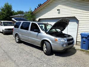 2007 Chevrolet Uplander Limited Minivan, Van,$2250.