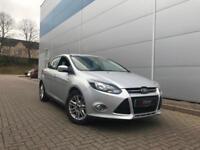 2013 13 Reg Ford Focus 1.6TDCi ( 115ps ) Titanium 1.6 Diesel + SILVER + Nice Sp