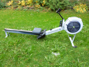 Concept 2 rowing machine model D, PM5